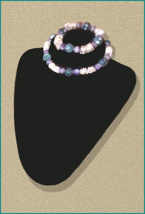 Silver Blue Amethyst Sophisti-Cuffs™