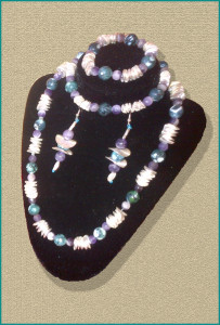Silver Blue Amethyst Design Collection